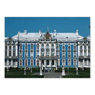 Palácio de Catherine em Pushkin, St Petersburg, Convite 12.7 X 17.78cm
