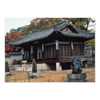 Palácio de Changdok na queda Convites Personalizados