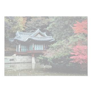 Palácio de Changdok na queda Convites