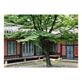 Palácio de Changdokkung - de Changdok Convite