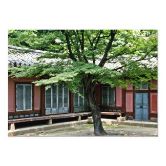 Palácio de Changdokkung - de Changdok Convite 12.7 X 17.78cm