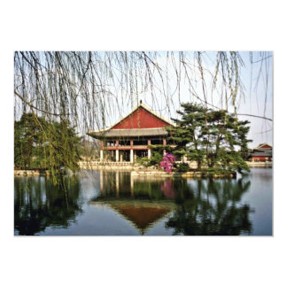 Palácio de Kyongbokkung - de Kyongbuk Convite 12.7 X 17.78cm