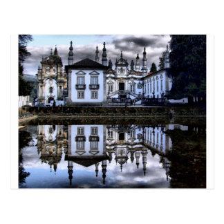 Palácio de Mateus em Vila Real Cartão Postal