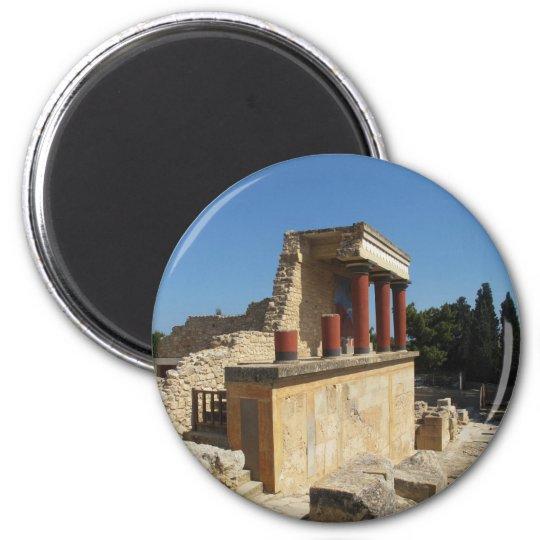 Palácio de Minoan de Knossos Ímã Redondo 5.08cm
