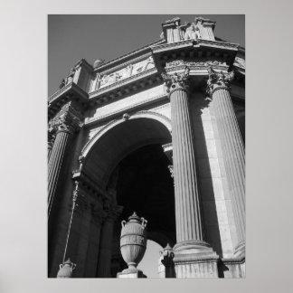 Palácio de San Francisco das belas artes Poster