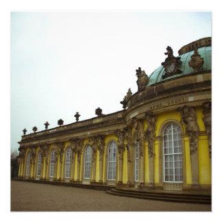 Palácio de Sanssouci Convite Personalizado