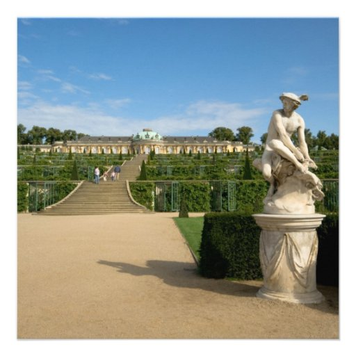 Palácio de Sanssouci Convite
