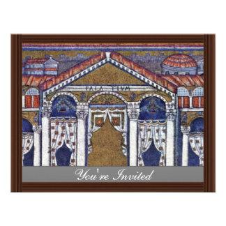 Palácio de Theodoric por Meister Von San Apollinar Convites