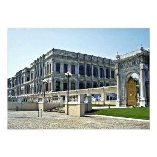 Palácio do otomano de Ciragan, do beira-mar - Ista Convite