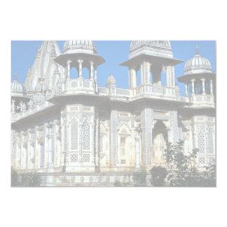 Palácio em Shivpuri, Madhya Pradesh, India Convite 12.7 X 17.78cm