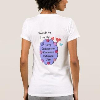 Palavras a viver perto t-shirts