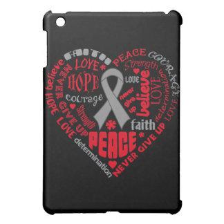 Palavras do coração da consciência da doença de Pa Capa iPad Mini