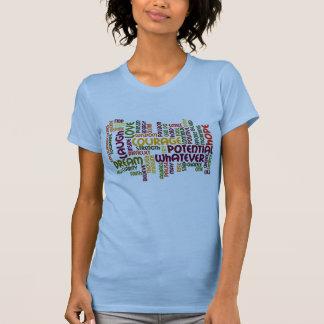 Palavras inspiradores #1 - atitude positiva t-shirt