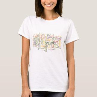 Palavras inspiradores #2 - atitude positiva t-shirt