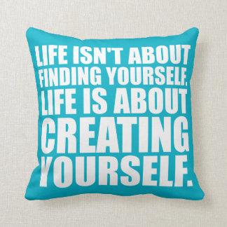Palavras inspiradores - criar-se travesseiro