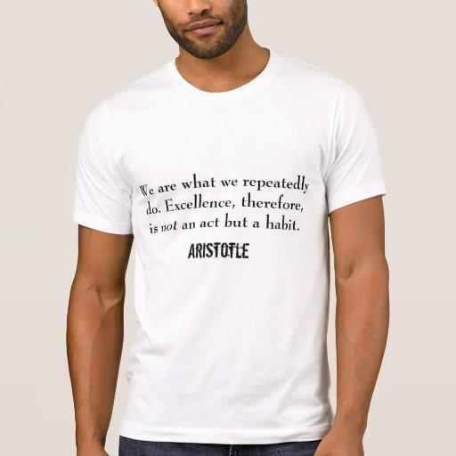 Palavras inspiradores t-shirts
