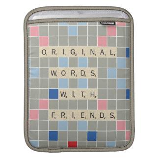 Palavras originais com amigos bolsas para iPad