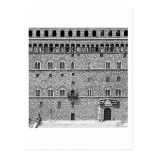 Palazzo Vecchio, Florença Cartão Postal