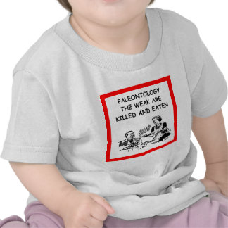 paleontologia camisetas