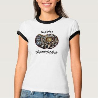 Paleontologist de aspiração t-shirt