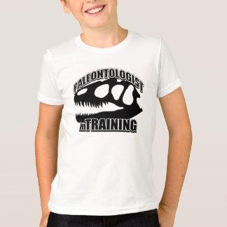 PALEONTOLOGIST no treinamento Tshirt