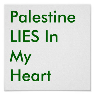 Palestina ENCONTRA-SE em meu coração Pôster