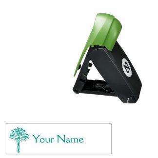 Palmeira personalizada carimbo de bolso