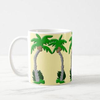 Palmeira por todo o lado na caneca