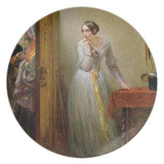 Palpitação, 1844 (óleo em canvas) pratos