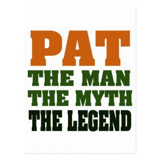 PANCADINHA - homem, o mito, a legenda Cartões Postais