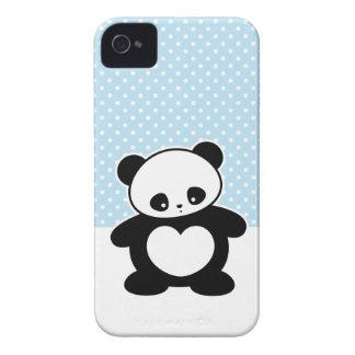 Panda de Kawaii iPhone 4 Capa