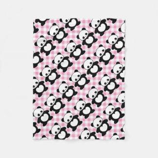 Panda de Kawaii Cobertor De Lã