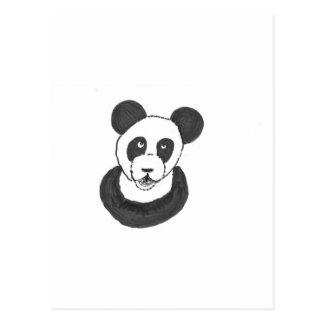 Panda de riso cartão postal