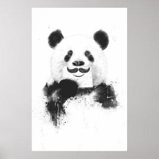 Panda engraçada poster