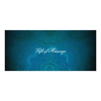 Panfleto Certificados de presente da mandala do zen do azul