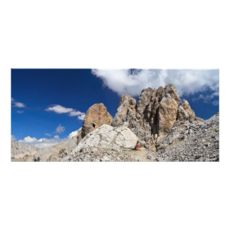 Panfleto Dolomites - rocha de Costabella