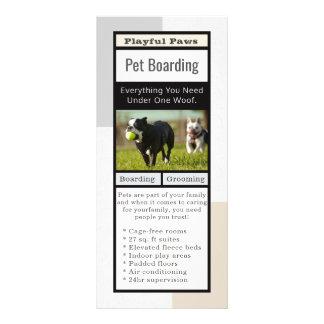Panfleto Embarque moderno do animal de estimação
