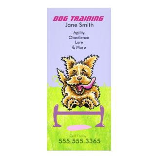 Panfleto Marketing de negócio Wheaten do animal de