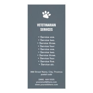 Panfleto O veterinário presta serviços de manutenção ao