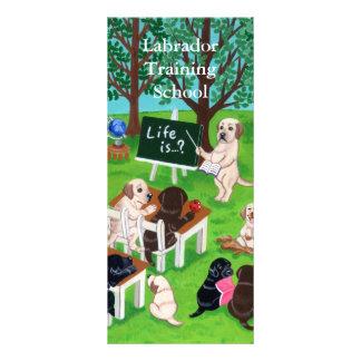 Panfleto Pintura da escola de Labrador