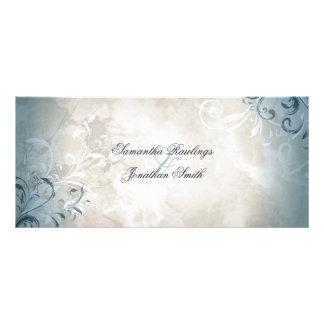 Panfleto Programa do casamento - folha elegante &