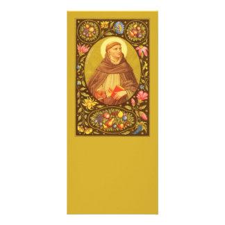 Panfleto Vazio customizável de St Dominic de Guzman (PM 02)