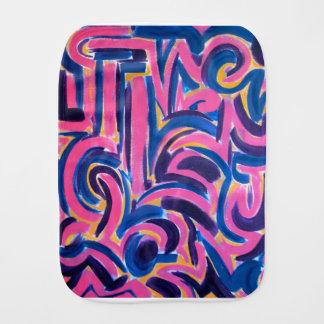 Paninho De Boca Arte abstracta pintada Grafite-Mão do grego