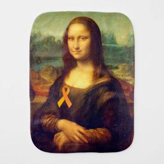 Paninho De Boca Mona Lisa com fita alaranjada
