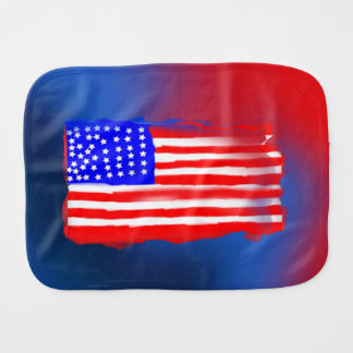 Paninho De Boca Pano 3-D do Burp do design do falso da bandeira