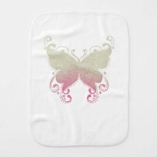 Paninho De Boca Silhueta da borboleta - pano do Burp do bebê