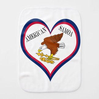 Paninho Para Bebês Bandeira de Samoa Americanas