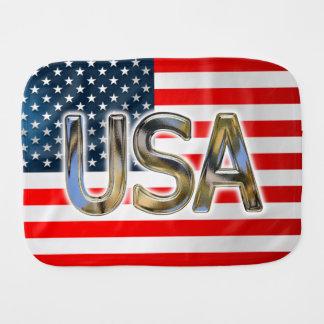 Paninho Para Bebês Bandeira dos EUA