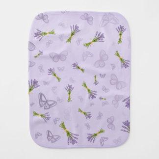 Paninho Para Bebês Lavanda & borboletas