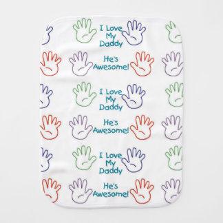 Paninho Para Bebês Mãos do pai